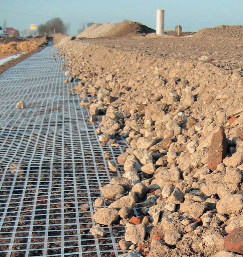 Retaining Wall Drainage Mat : Slope stabilization retaining walls geotextiles east