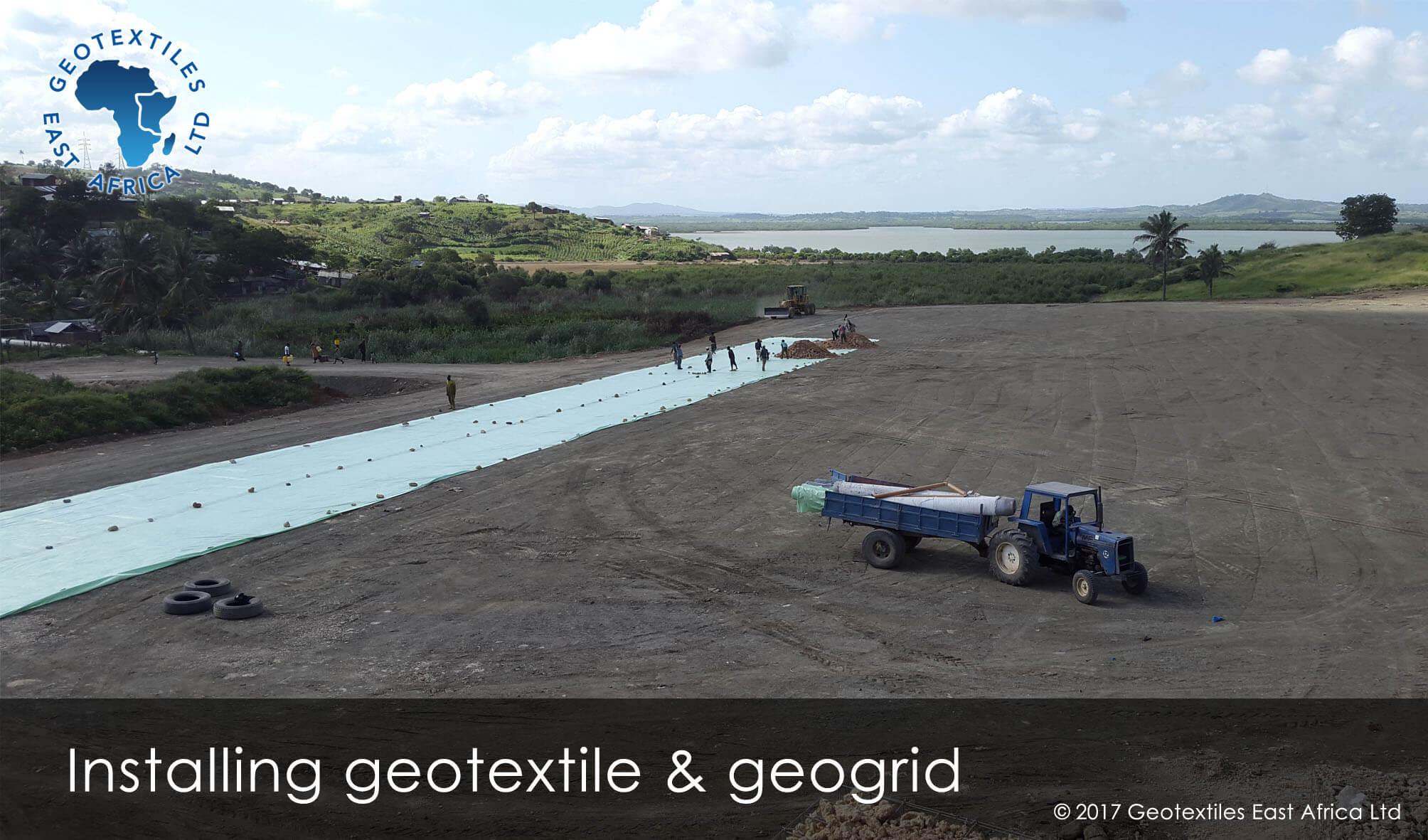 geotextile for soil separation